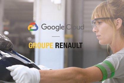 Renault y Google Cloud se alían para acelerar el desarrollo industrial y la industria 4.0