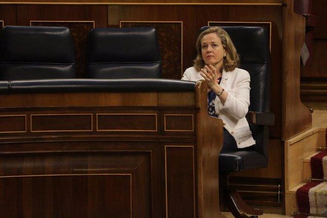 UE.- Calviño se disputa hoy la presidencia del Eurogrupo con el luxemburgués Gra