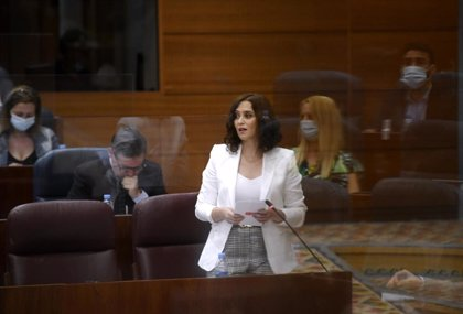 """Ayuso defiende una selectividad """"única en toda España"""" porque la actual es """"un agravio para los estudiantes madrileños"""""""