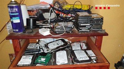 Detenido en Vallbona d'Anoia (Barcelona) por controlar cámaras de ordenadores que vendía