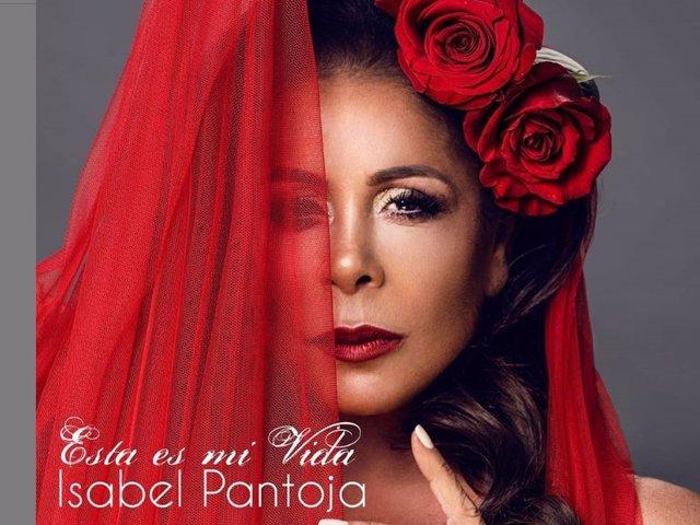 """Portada del nuevo single de Isabel Pantoja, """"Esta es mi vida"""""""