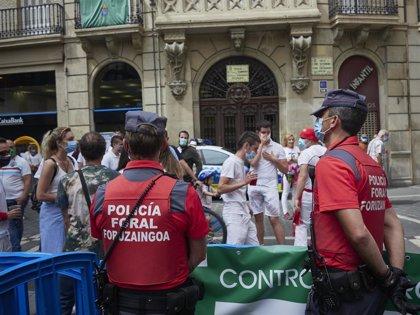La Policía Foral continúa con los controles preventivos de alcohol y drogas en los 'no Sanfermines'