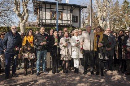 """Ciudadanos condena el ataque a la tumba de Fernando Buesa, víctima de ETA, y denuncia el """"odio"""" que persiste en Euskadi"""
