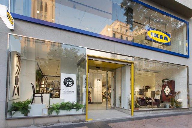 Economía.- La tienda urbana de Ikea en Goya registra ventas de 5 millones y un millón de visitantes en su primer año