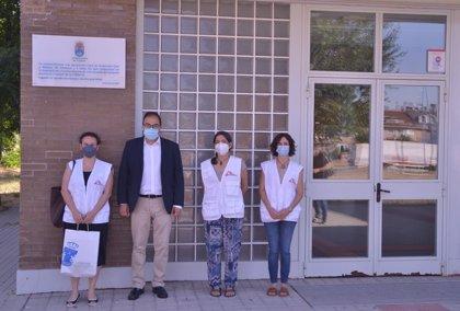 Leganés rinde homenaje a Protección Civil y Médicos Sin Fronteras por su labor en el hospital de campaña