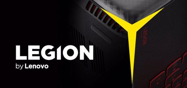 Logo de Lenovo Legion.
