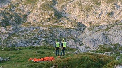 Fallece de un infarto un montañero en Picos de Europa