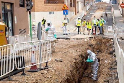 El nuevo colector de la calle Cruz del Sur evitará inundaciones a los vecinos de Valdefierro