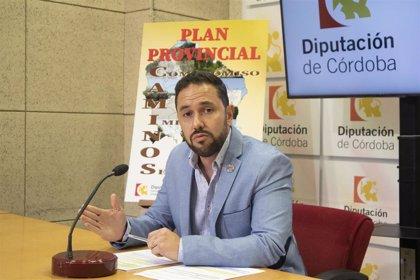 El Plan Provincial de Caminos de la Diputación de Córdoba destinará más de 3,6 millones a un total de 93 actuaciones
