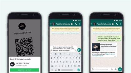 WhatsApp extiende los códigos QR a su versión para empresas