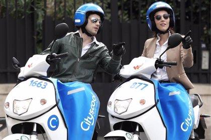 El operador francés de 'moto sharing' Cityscoot llega a Barcelona