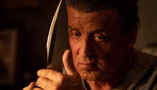 Sylvester Stallone en Rambo: Last Blood