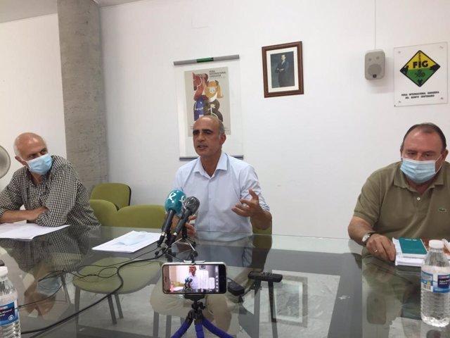 El alcalde de Zafra anuncia la suspensión de la Feria Interancional Ganadera