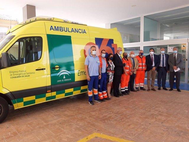 Vera (Almería) acoge una nueva base del 061