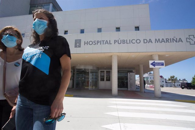 Entrada al Hospital Público da Mariña