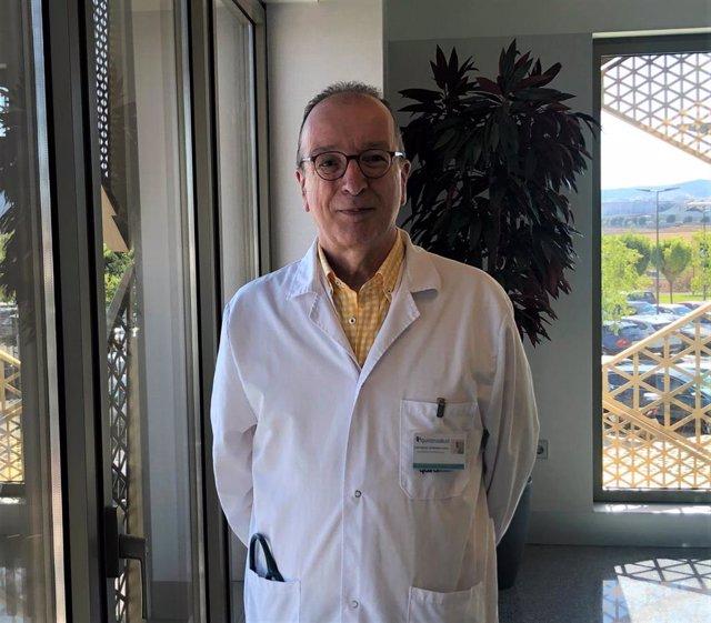 El jefe de servicio de Neumología del Hospital Quirónsalud Córdoba, Luis Manuel Entrenas