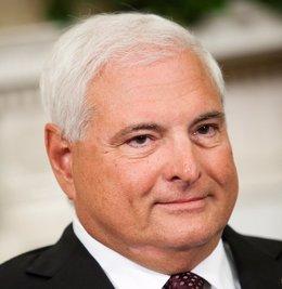 El ex presidente de Panamá Ricardo Martinelli