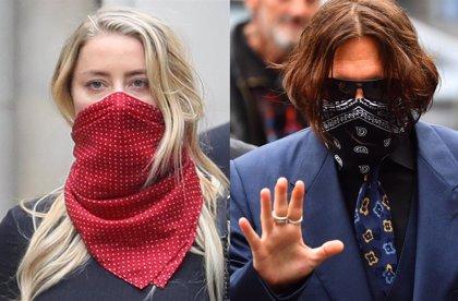 Johnny Depp niega ante el juez haber abofeteado a Amber Heard por reírse de su tatuaje de Winona Ryder