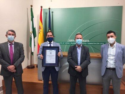 La Junta recibe el certificado Aenor por protección al covid-19 de un CIMI en Córdoba y otro en Almería