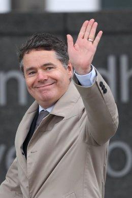 El nuevo presidente del Eurogrupo, Paschal Donohoe.