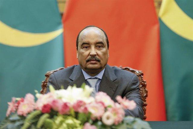El expresidente de Mauritania Mohamed Uld Abdelaziz