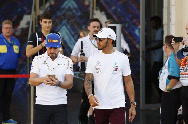 """Fórmula 1.- Hamilton: """"No he hablado con Alonso, pero le felicito"""""""