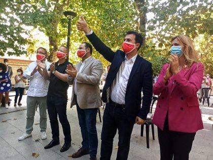 """G.Caballero pide a los progresistas poner la """"sexta marcha"""" para lograr un cambio que dé """"aire fresco"""" a Galicia"""