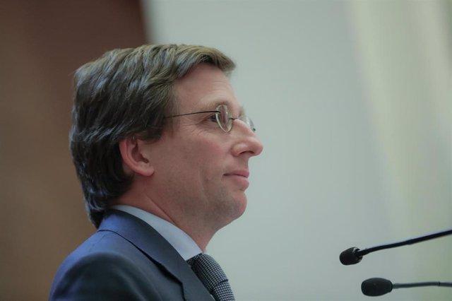 Imagen de recurso del alcalde de Madrid, José Luis-Martínez Almeida.
