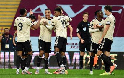El United persigue la zona Champions y el Tottenham se descuelga