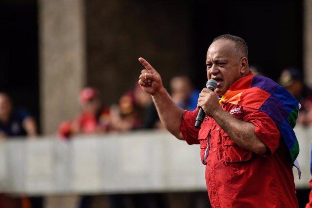 El vicepresidente del PSUV, Diosdado Cabello