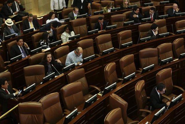 La Cámara de Representantes de Colombia.