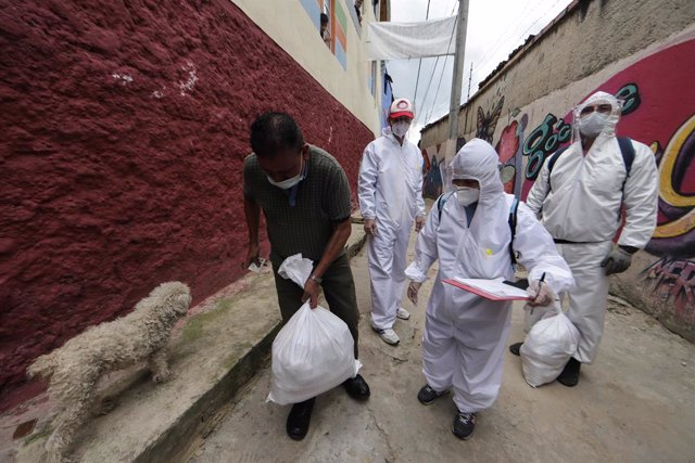 Coronavirus.- Colombia supera las 4.000 muertes por la COVID-19 mientras lucha p