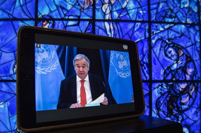 C.Marfil.- Guterres lamenta la muerte del primer ministro y candidato a la Presi