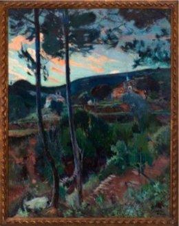 """Joaquim Mir i Trinxet, """"El Pascol, Caldes de Montbui"""", 1922."""
