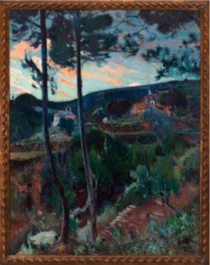 Importante subasta de piezas selectas, en su mayoría pinturas, de artistas de los siglos XIX y XX