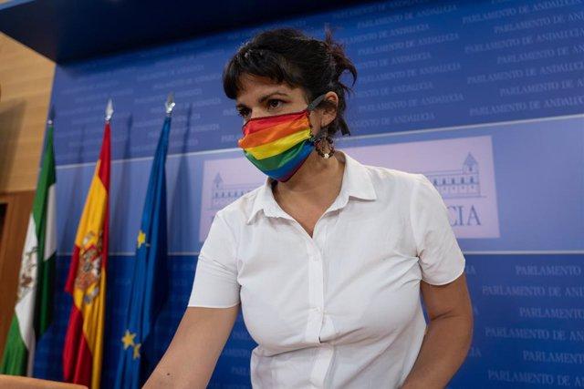 """Teresa Rodríguez rechaza """"una gran operación del Estado para salvar a Felipe VI"""""""
