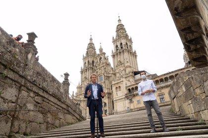 """Feijóo cierra la campaña llamando a votar frente al """"miedo"""": """"Intento ser presidente y alcalde de toda Galicia"""""""