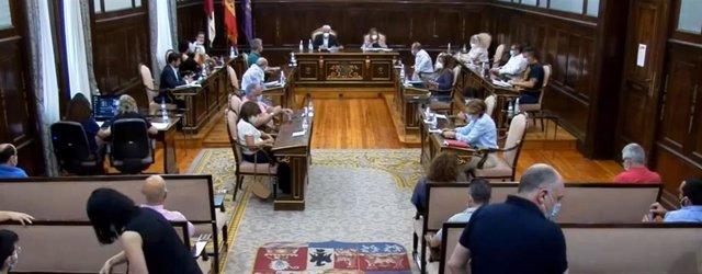 Pleno Diputación Guadalajara