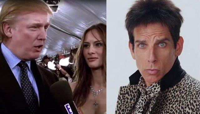 Cameo de Donald Trump en Zoolander de Ben Stiller