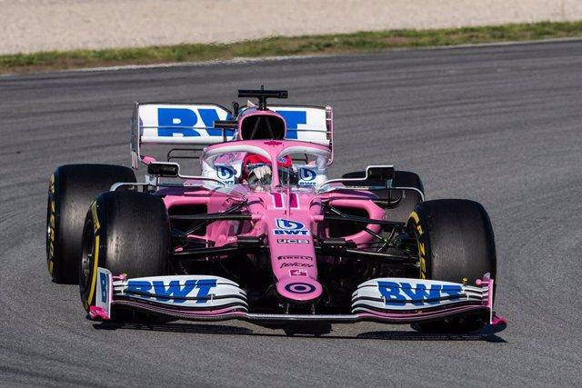 Fórmula 1/GP Estiria.- Pérez lidera y Sainz se coloca séptimo en la primera sesi