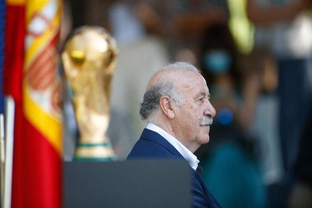 """Fútbol/Selección.- Del Bosque: """"Aquella selección fue mucho más que un equipo de"""