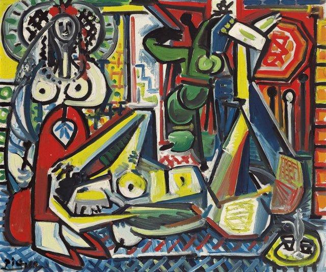Les femmes d'Algier, de Picasso