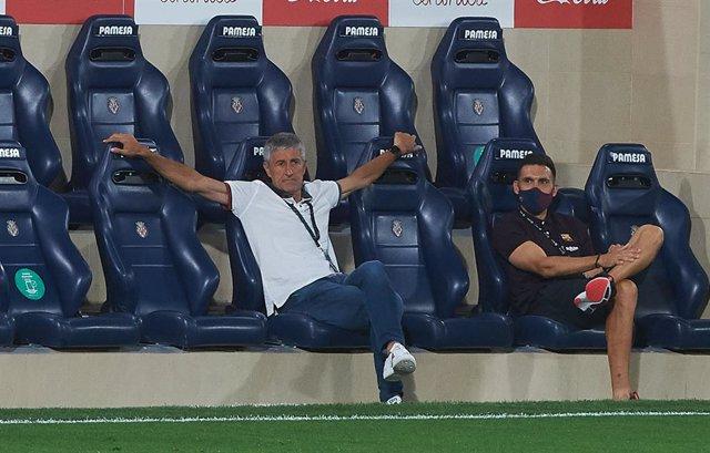 """Fútbol.- Setién: """"En absoluto la 'Champions' está más complicada"""""""