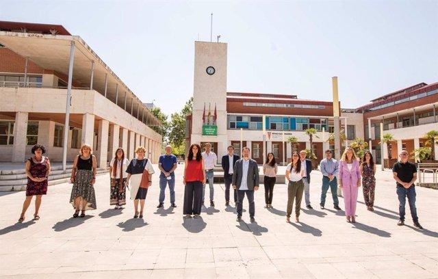 Imagen del nuevo equipo de Gobierno municipal de Rivas.