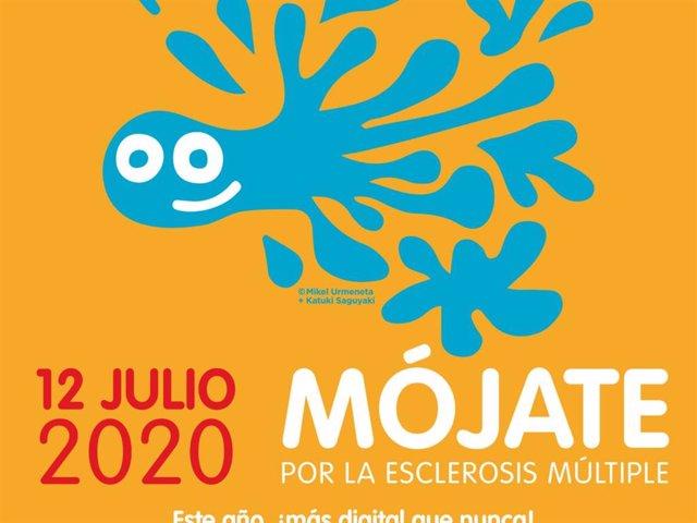 Esclerosis Múltiple España lanza una nueva edición de la campaña 'Mójate por la Esclerosis Múltiple