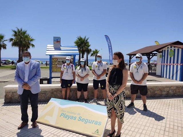 Nota Y Fotos Plan Playas Seguras Vélez Málaga Y Algarrobo