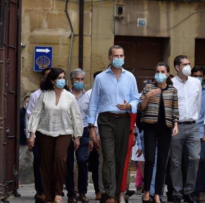 """Presidenta de La Rioja ve """"extraordinariamente positiva"""" visita de los Reyes """"transmitiendo optimismo"""" tras la pandemia"""