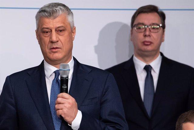 Kosovo/Serbia.- Kosovo y Serbia acceden a retomar las conversaciones tras la cum