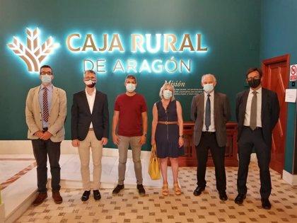 Caja Rural de Aragón financia con 10,2 millones la modernización de los regantes de Santa Cruz en Alcolea de Cinca