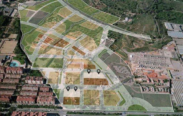 Incasòl vende a Brosh cuatro parcelas para construir 271 viviendas protegidos en Viladecans